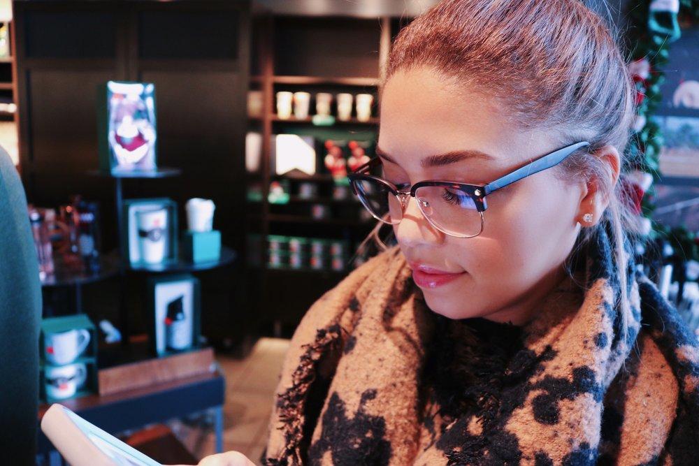 Glasses - Elliot ,  Turtle Neck - H&M ,  Scarf - H&M
