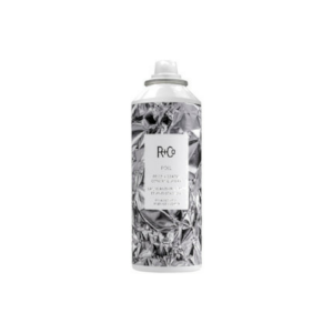 2.  R & Co Foil Frizz + Static Control Spray $27   I use this product in the salon and sell it all the time. It's fantastic for all hair types. Sometimes, I spray it just to refresh my hair. The look of the bottle could not be cooler. I love this brand. This product is on the pricier side but it is worth it. A little goes a long way and it works for all hair types. Foil can be found at salons and Nordstrom.