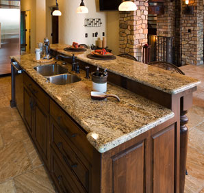 Granite Countertops make a beautiful kitchen.