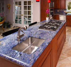 Granite comes in many colors