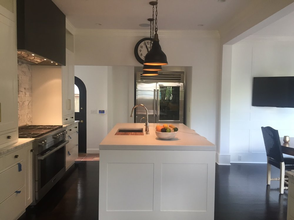 Northwest Portland Kitchen, Colorado Yule Lincoln Marble, Milan Stoneworks