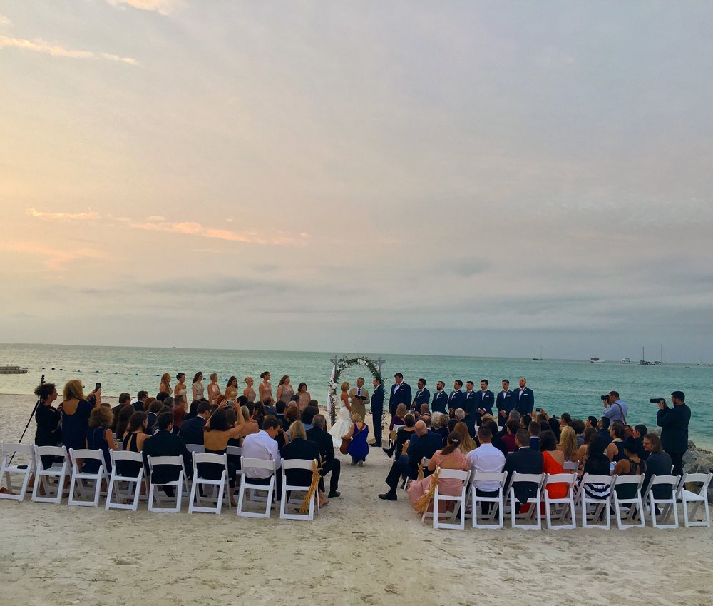 Key West Sunset Key Wedding