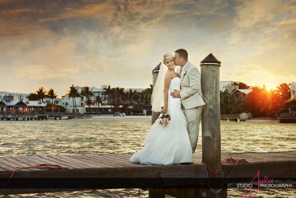 Key West Bride + Groom