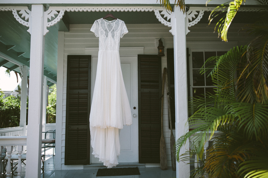 Key West Wedding | Ft Zachary Taylor + Margaritaville Resort Sunset Deck