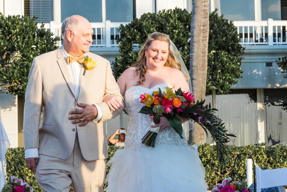 Hannah + Josh {Real Wedding} Margaritaville Key West Resort