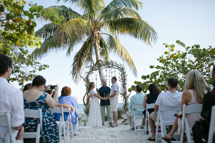 Katie + Rob {Real Wedding} | Ft Zachary Taylor + Margaritaville Resort Sunset Deck Key West13.jpg