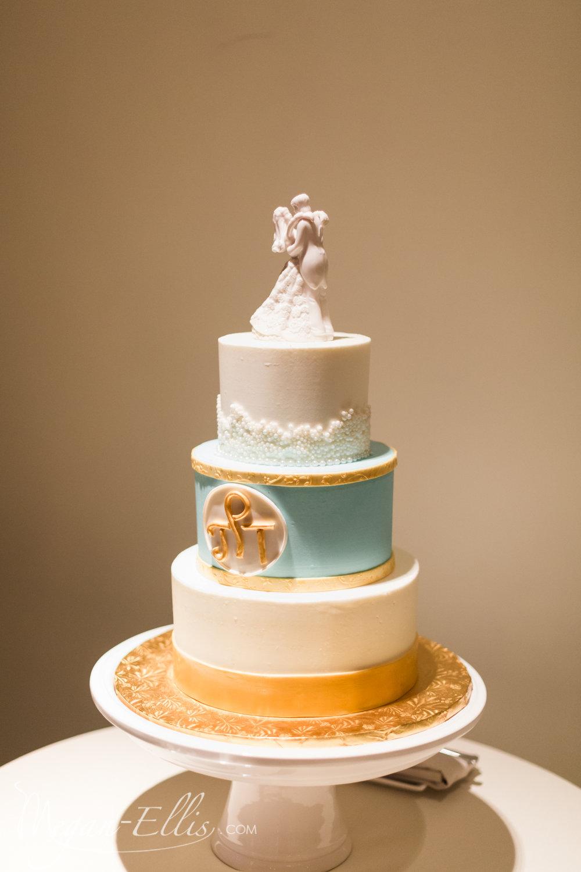 Key West Wedding Cake