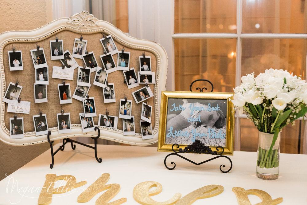 Wedding Welcome Table