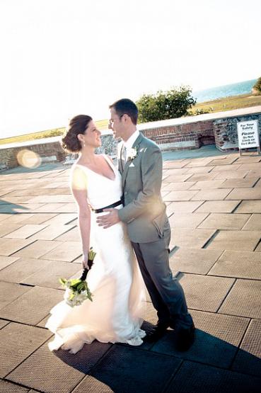 JAMIE + JUSTIN | FORT ZACHARY TAYLOR WEDDINGS