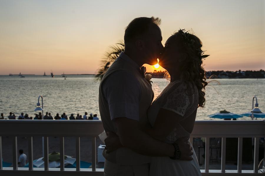 KATIE + ROB | MARGARITAVILLE RESORT SUNSET DECK WEDDING