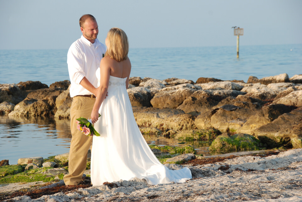 CARISSA + ROBBIE | SMATHERS BEACH KEY WEST WEDDINGS