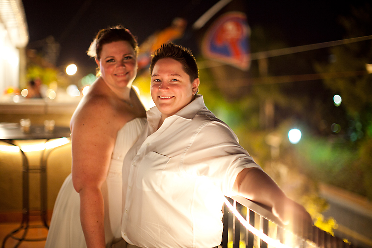 RACHEL + ERICA | SMATHERS BEACH KEY WEST WEDDINGS