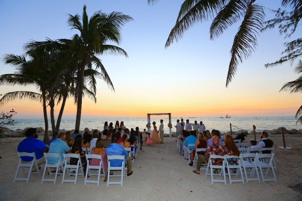 Key West Beach Wedding | Soiree Key West Destination Wedding Planning