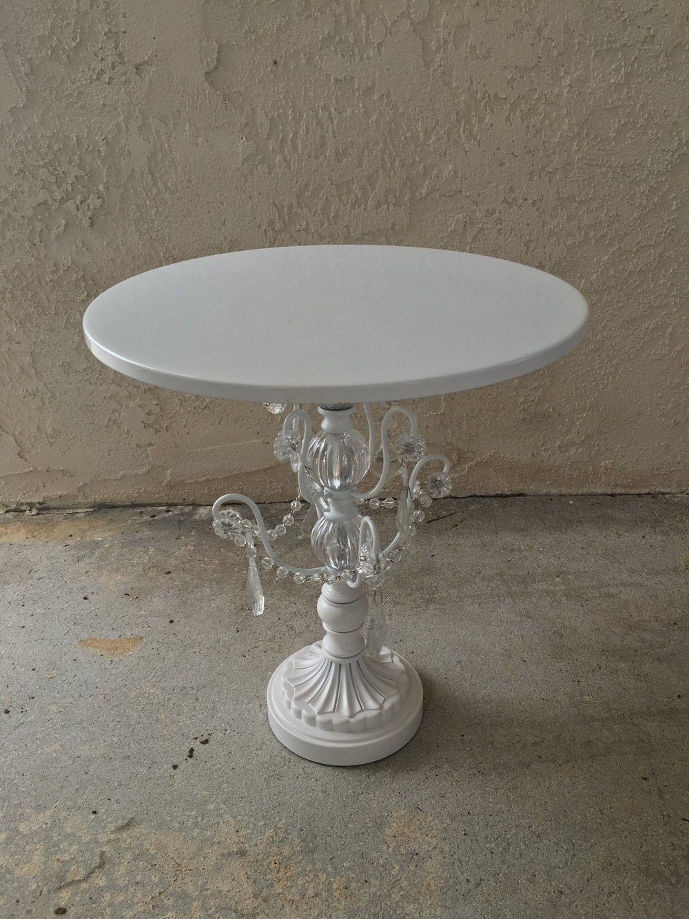 Tall MD White Cake Stand