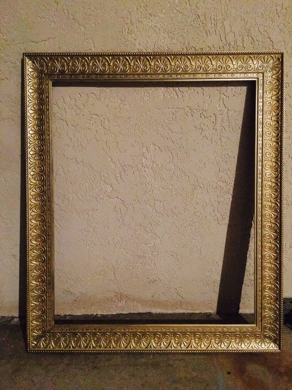 MD Gold Frame (Chalkboard)