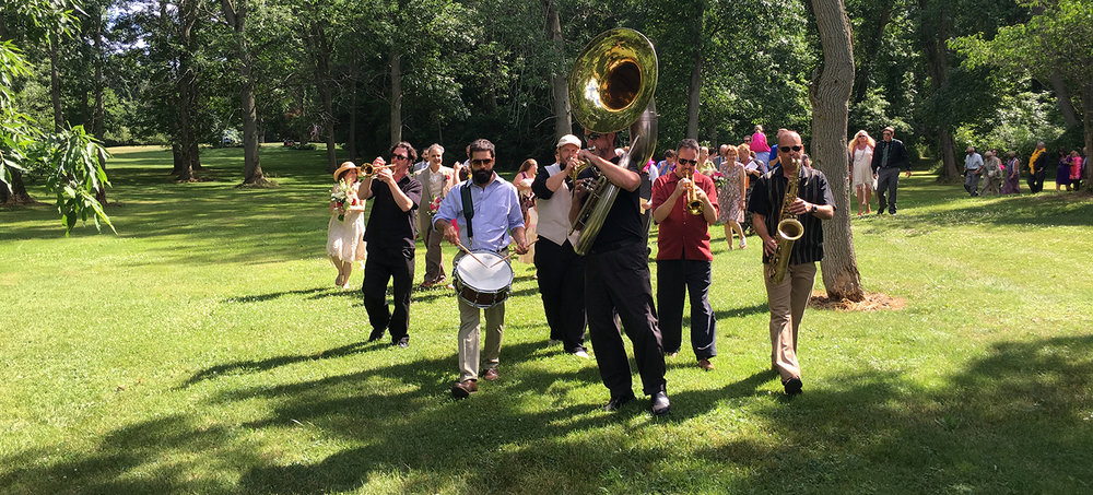 New Basics Brass Band: Langhorst/Bolzenius Wedding