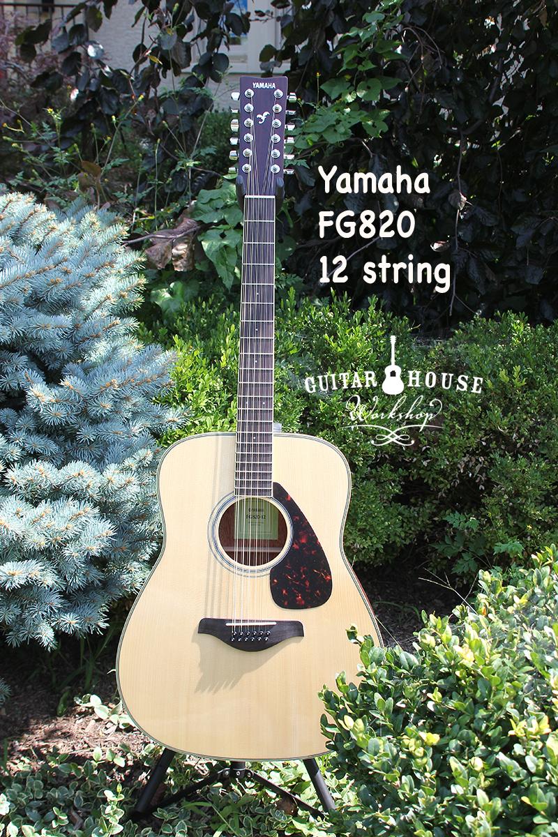 Yamaha FG820-12 String  $369.99