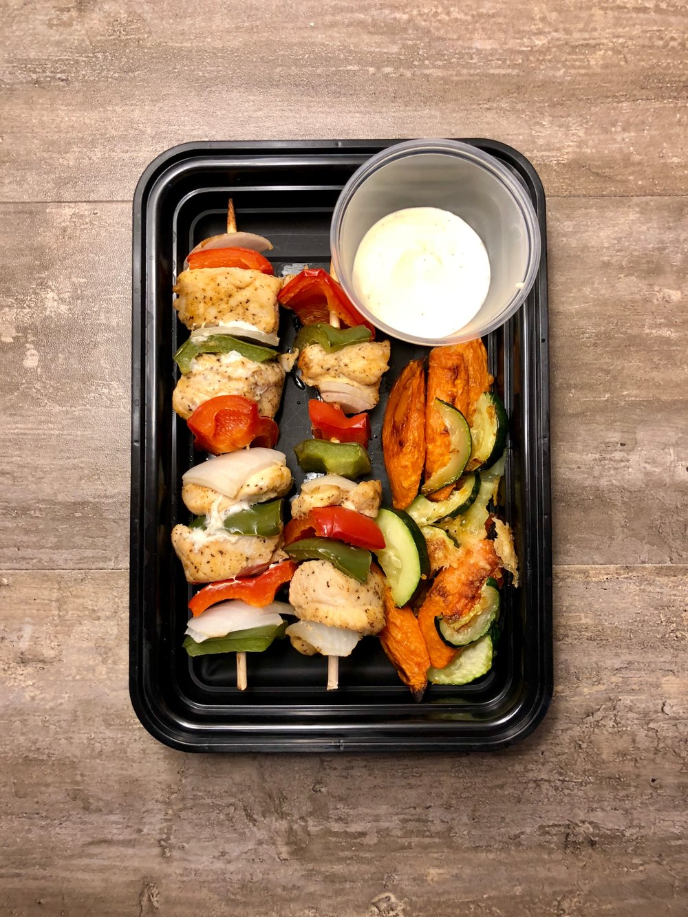 Chicken Kabobs Meal Prep