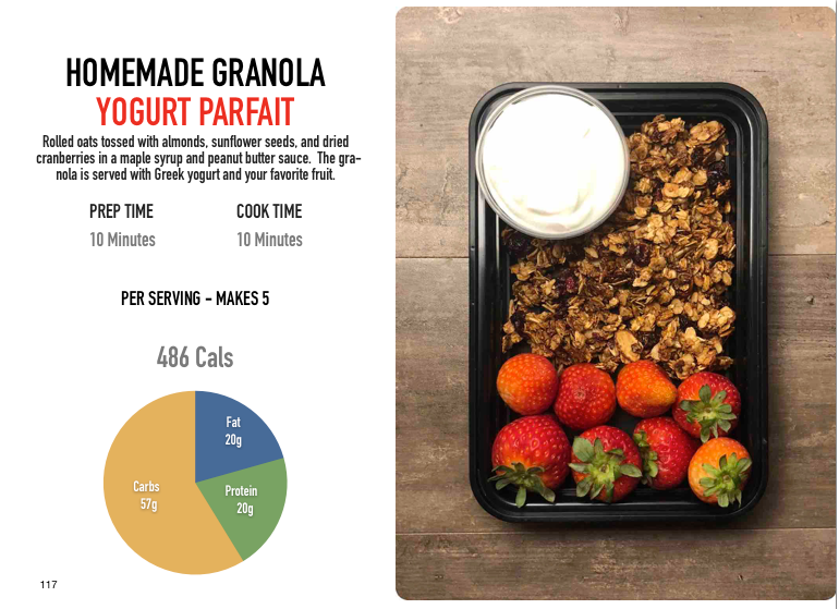 Homemade Granola Yogurt Parfaits