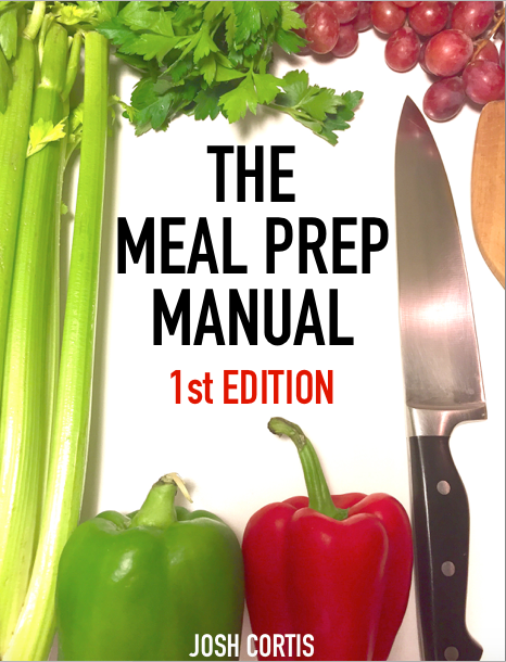 The Meal Prep Manual - 1st Edition Cover