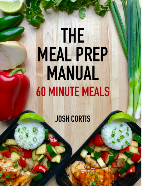 The Meal Prep Manual 60 Minute Meals Cover