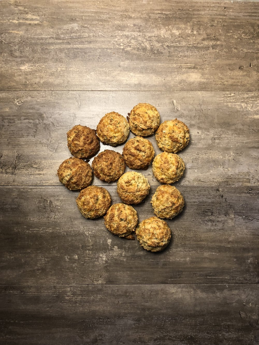 Faux Cheddar Bay Biscuits - Gluten Free