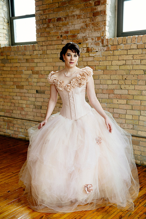 Fairy Blossom Wedding Dress