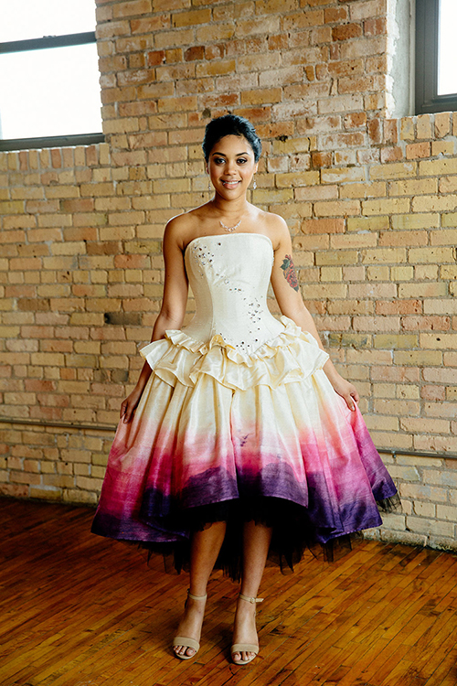 Ombre Wedding Dress Moon Goddess