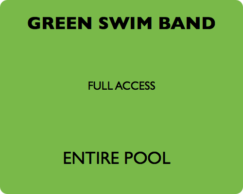 green swim band