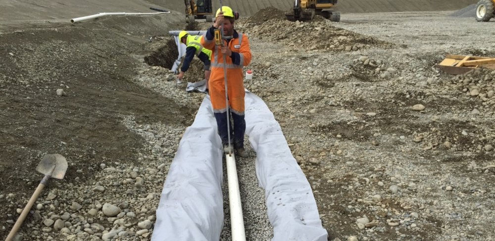 Erina Downs - Under liner drainage