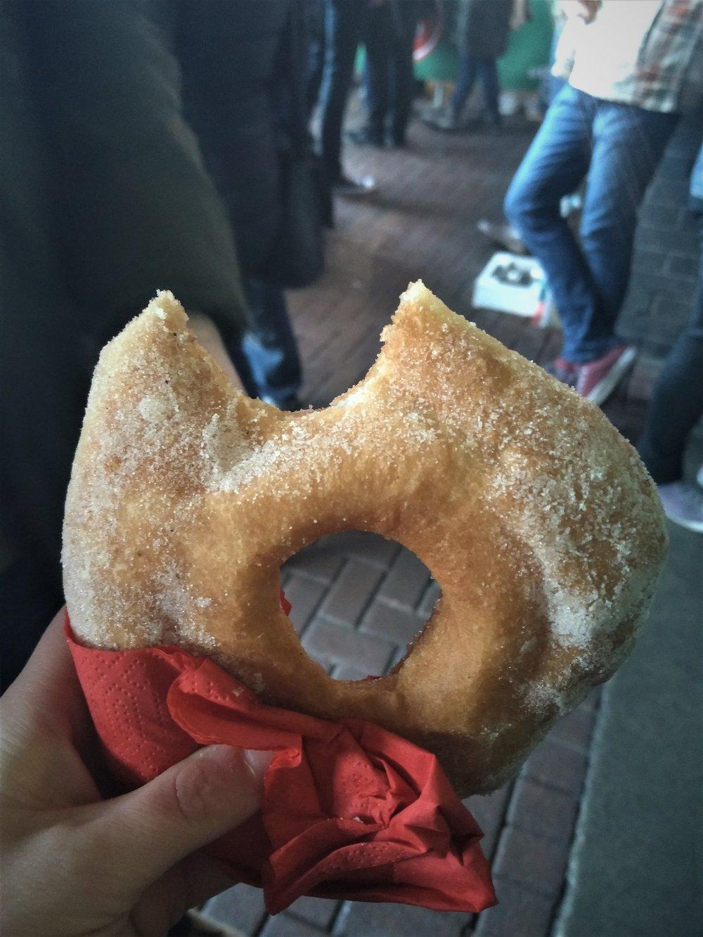 Frittelle (Italian Doughnut) from Fritto.