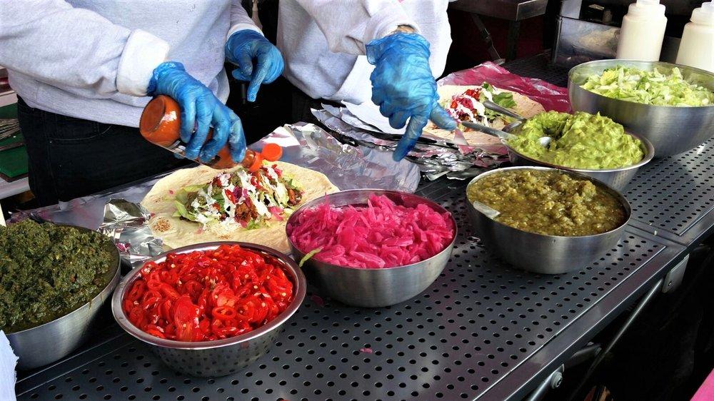 Club Mexicana  making some sexy ass Burritos!