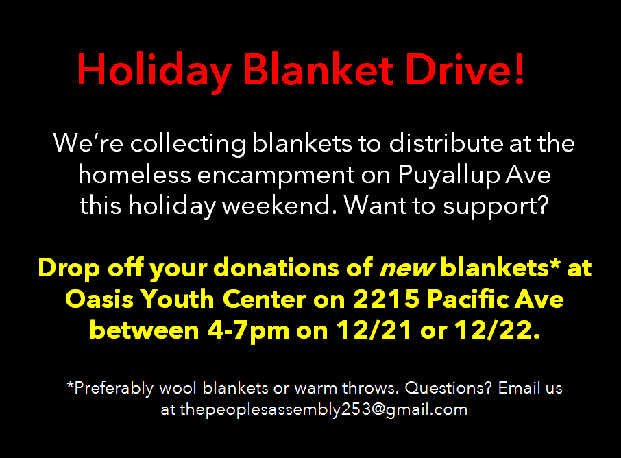 holiday blanket drive announcement.PNG
