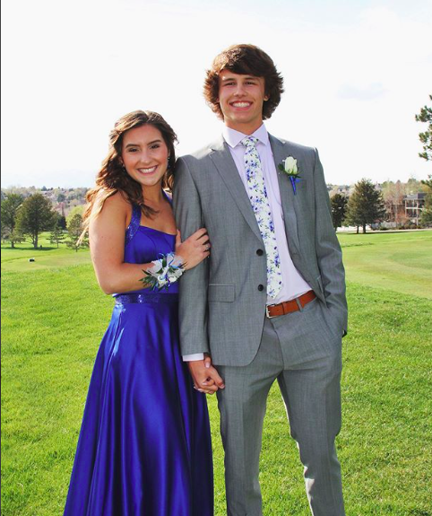 "Lexi: ""I loved Prom because I got to spend my night with my favorite person & felt beautiful in my dress."""