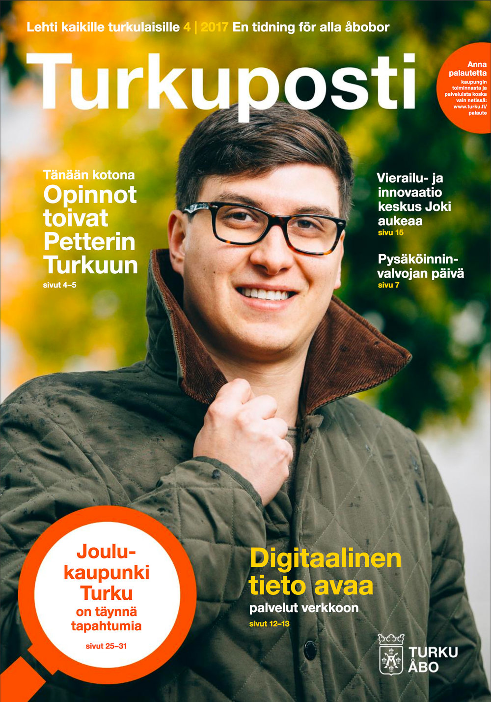 Cover for Turkuposti 4/2017