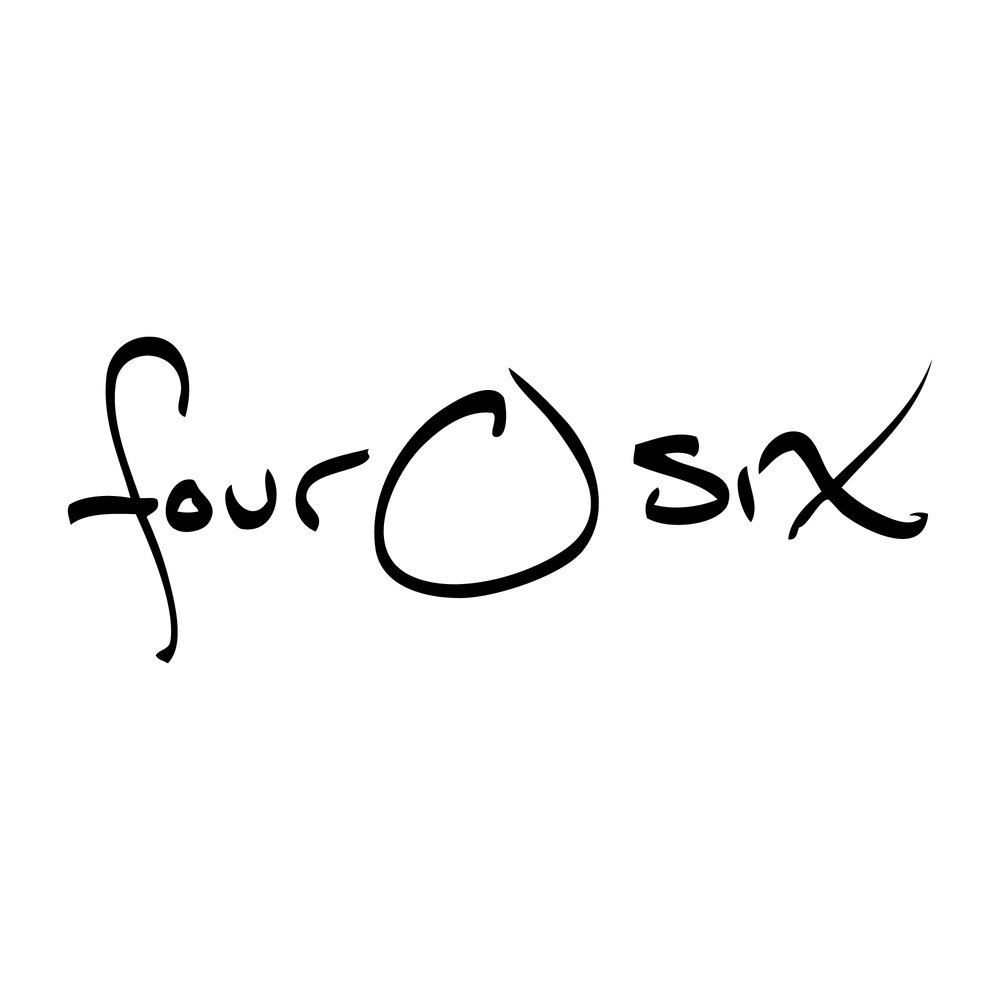 Fourosix decal small