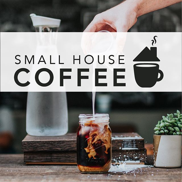 "Another logo set, this time for a made-up coffee shop, ""Small House Coffee"" ☕️ swipe for all color versions! Photo by Tyler Nix on Unsplash . . . . #graphicdesign #design #logo #logos #coffee #coffeeshop #brand #branding #adobeillustrator #digitalart #create #workfromhome #entrepreneur"