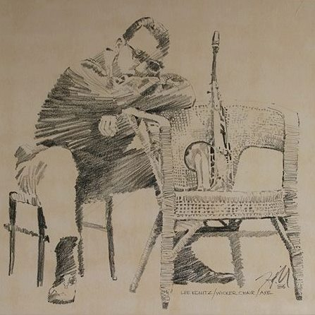 """Lee Konitz/Wicker Chair/Axe"""