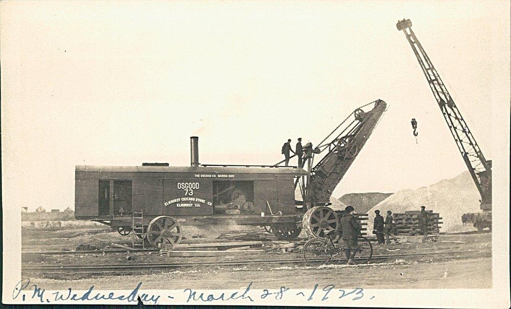 1923 Osgood Steam Shovel