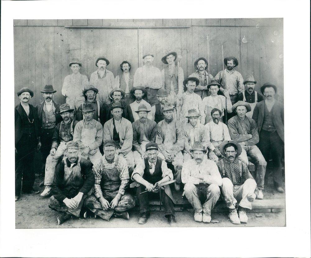 Elmhurst-Chicago Stone Co. employees 1894