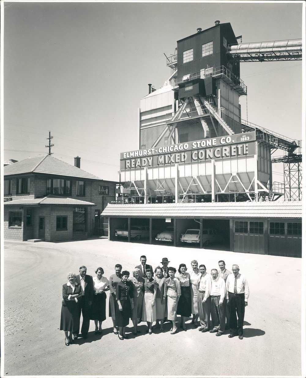 ECS employees at 400 West First Street in Elmhurst, IL