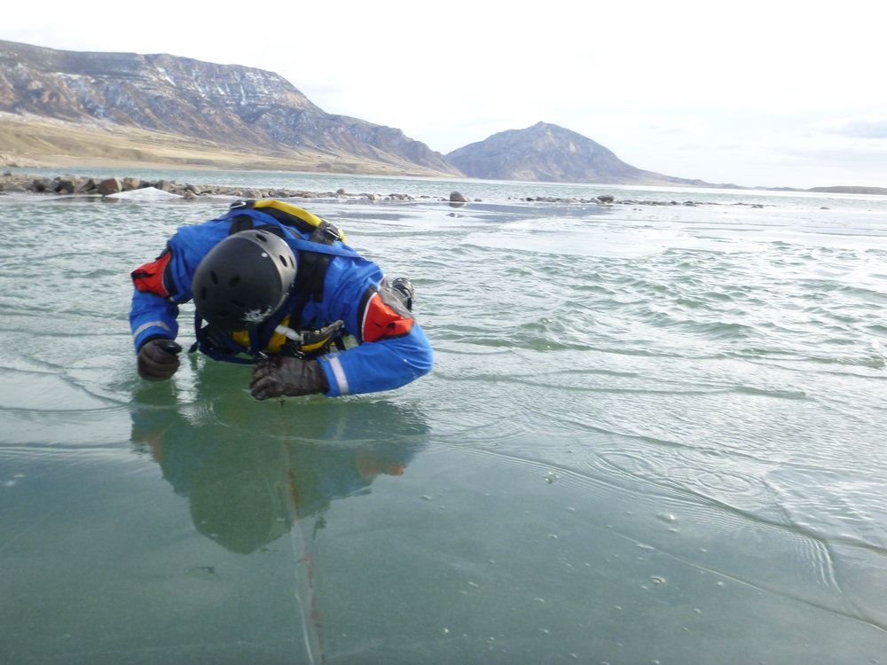 ice rescue for field workers