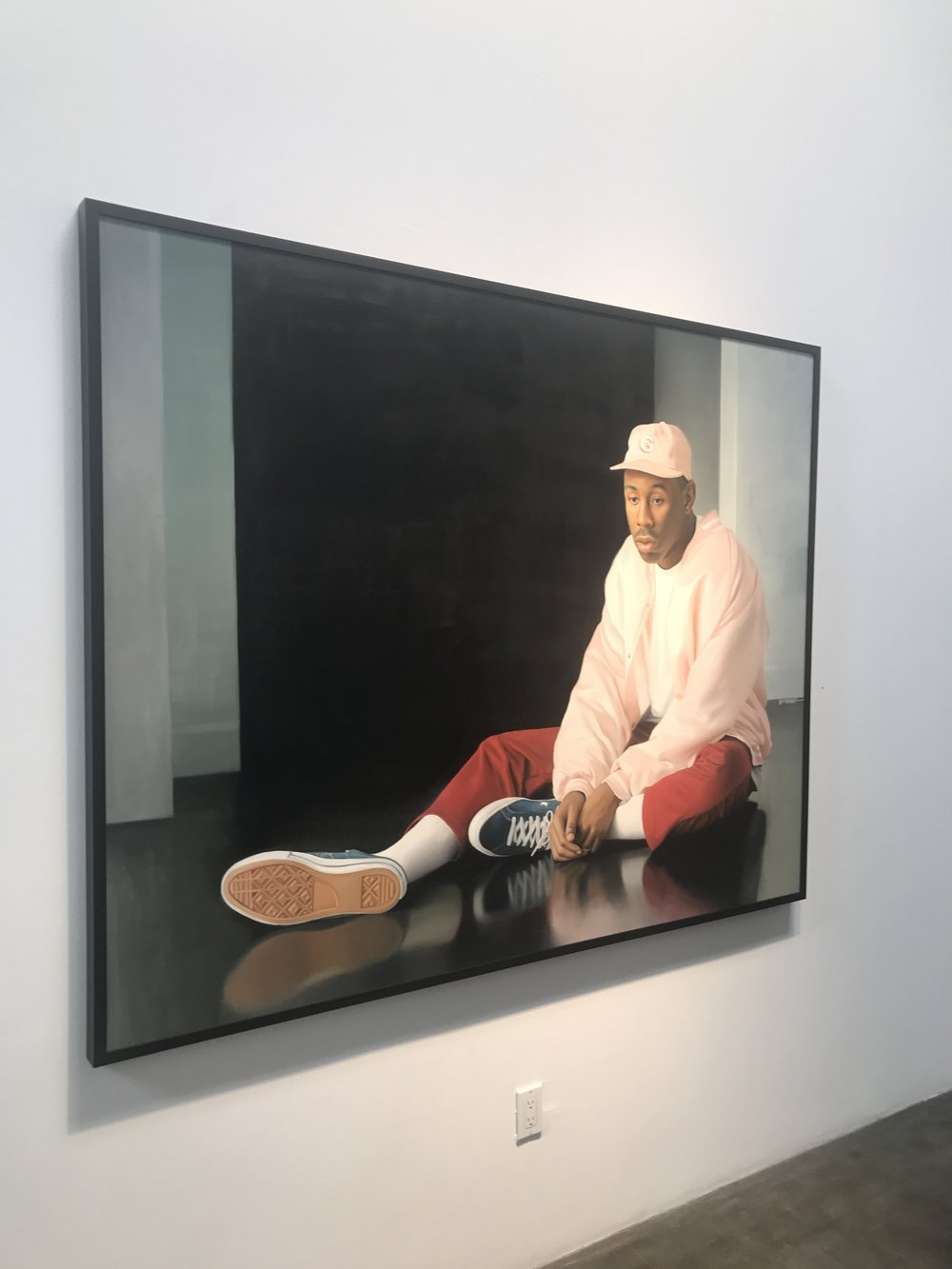 Delfin Finley's Just Getting Started - The 23-year-old artists's inaugural show,
