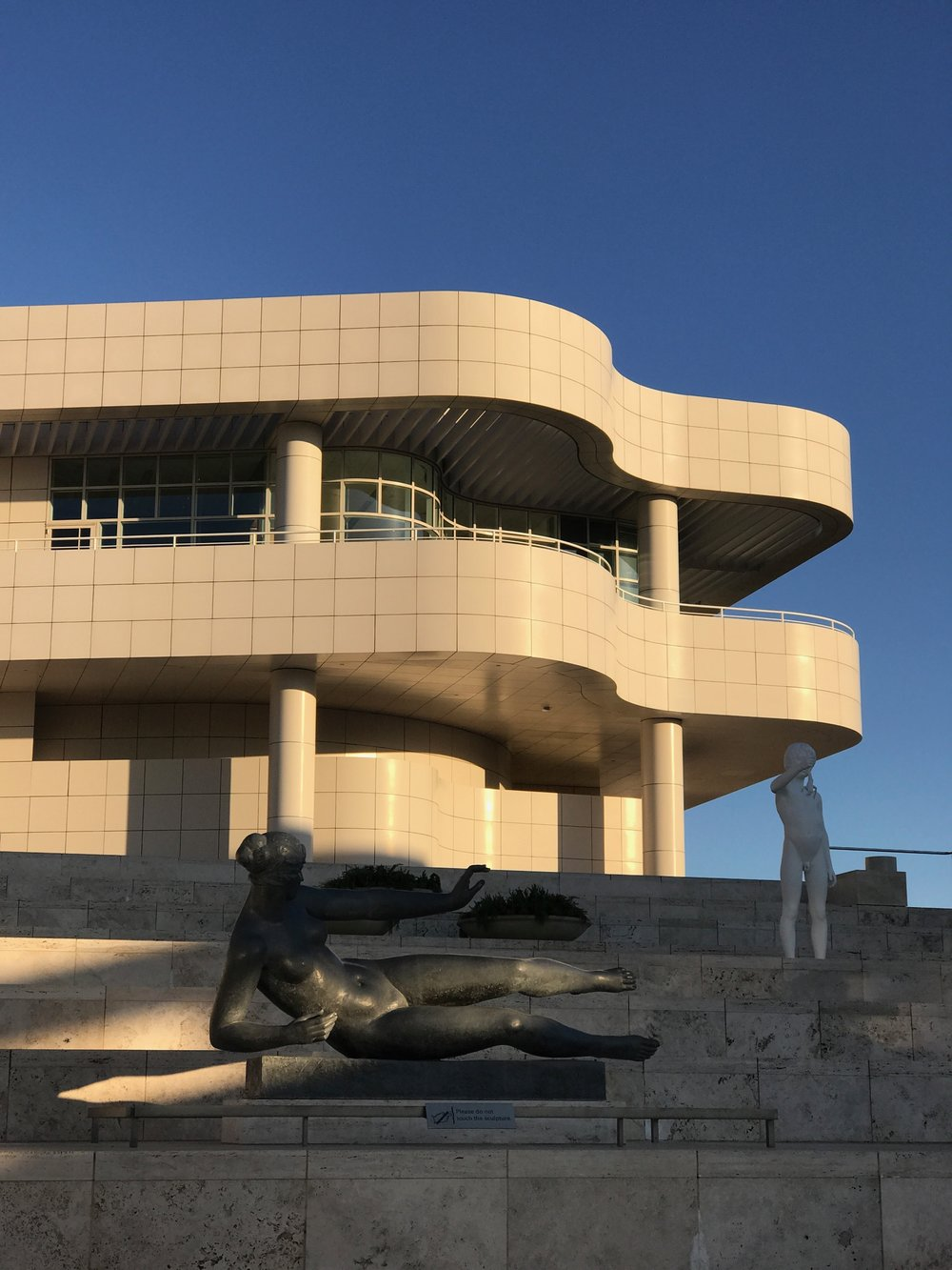 The Getty - It's where the architecture is in the same league as the monstrous collection of European and American art spanning medieval times to the present.