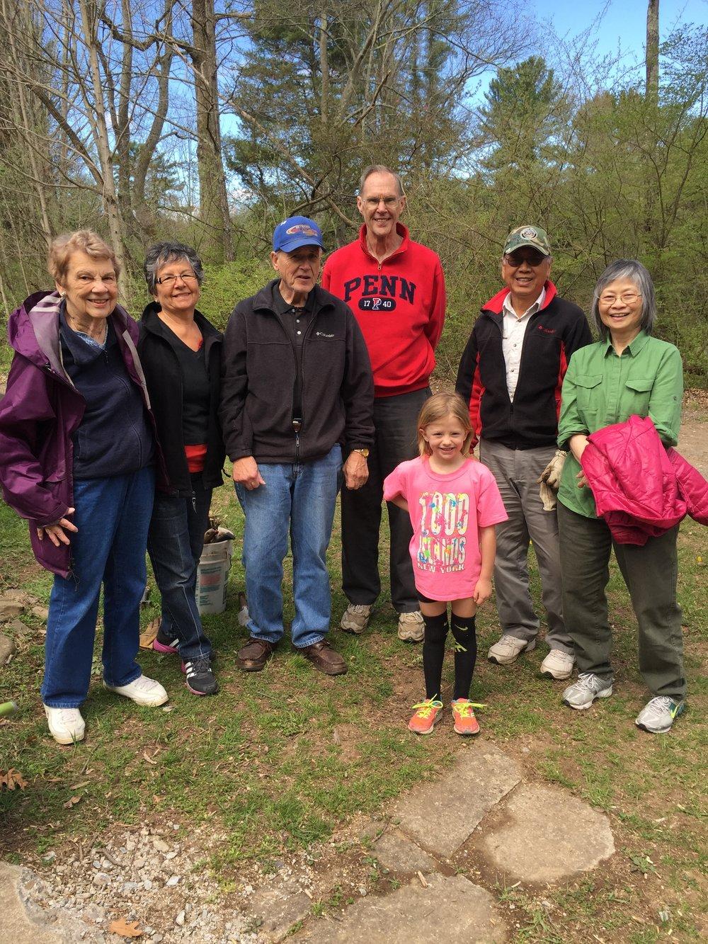 Volunteer Day at Kirkwood Camp