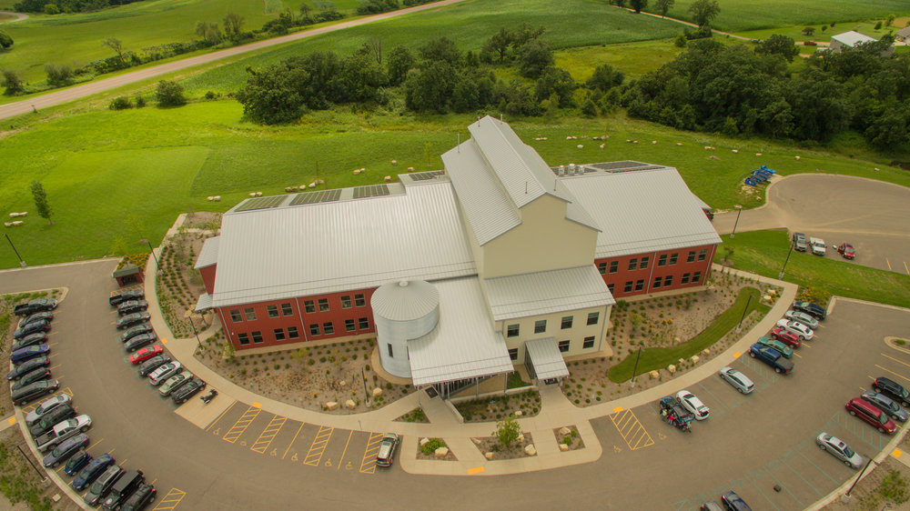 Organic Valley's 2nd Headquarters - Cashton, WI