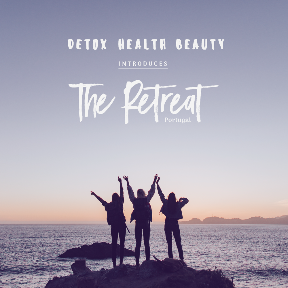 We are so happy to announce our first  Detox Health Beauty Retreat !   Place:   Cascais (a stunning seaside town just outside Lisbon), Portugal.   Dates:     Tues 10th September - Sun 15th September (5 nights)    I visited Lisbon a few months ago and the plant based foodie/wellness scene there was incredible. My friend and I unearthed loads of very cool places to eat and we loved the city. I travelled to Portugal with the intention to create a retreat there in 2019. We took the short train ride to Cascais from Lisbon and we met an amazing woman called Laura, who owns  Guincho Wayra House , where DHB retreat is taking place. The rooms are shared dorms (pretty standard for a retreat like this). The house is set in a picturesque valley, overlooking Guincho Beach and the magical Sintra Natural Park. A perfect place for deep relaxation, bathing in nature, retreating, resting, recharging, eating super healthy and delicious food and generally having fun.   Included in the price:    Accommodation  at Guincho Wayra House  Our  plant based chef  is going to source food from the local market in Estoril every day and will prepare daily breakfasts and 5 plant based/vegan meals throughout the week including a starter, main and vegan dessert.  A guided  5 - 6 hour hike in the Sintra Natural Park  (a truly stunning place, where Madonna lives…) with a plant based packed lunch prepared by the chef.  5 morning  yoga  classes (vinyasa flow, hatha and ashtanga)  2  massage treatments  during the stay, with a choice of ayurvedic, balinese, thai and reflexology  1  kite surfing  lesson or  paddle boarding  lesson  There will be a  day trip to Lisbon  and free time to go for walks, spend time at the beach, lie in the hammock, visit Cascais - whatever you feel like.  We are going to have  mini workshops  including  crafting sessions  with Honeyed Bison. There will be  ayurvedic workshops and meditations  too.   It's going to be gorgeous.    Price:  £887 (excluding flights, which you will bo