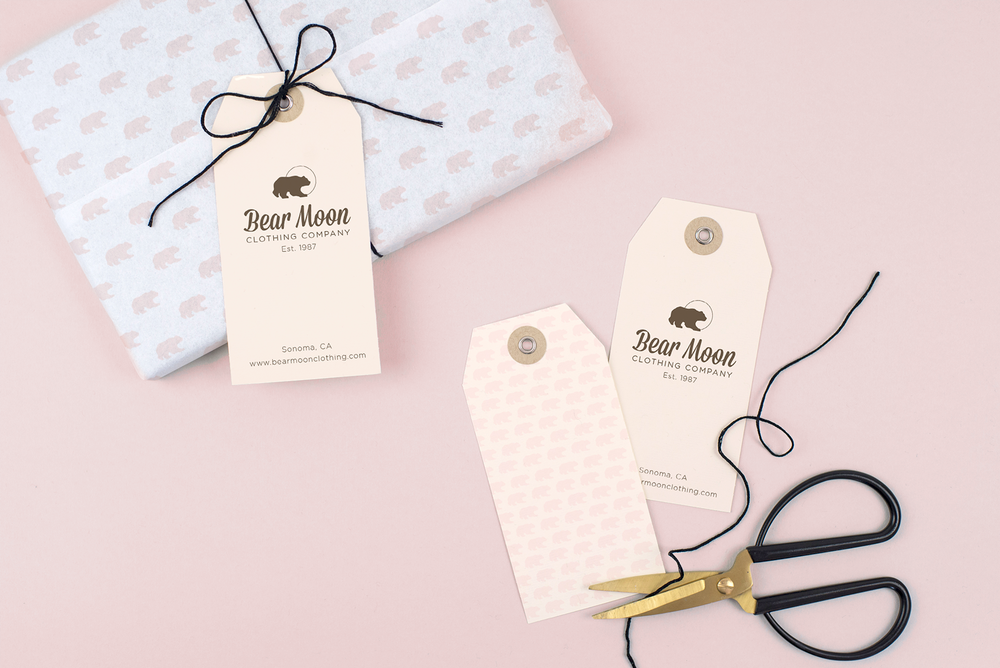 bear moon clothinG    Branding | Website Design