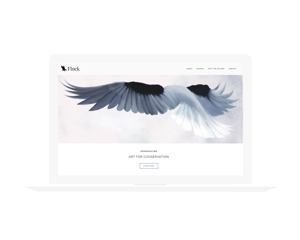 FLOCK    Branding | Website Design
