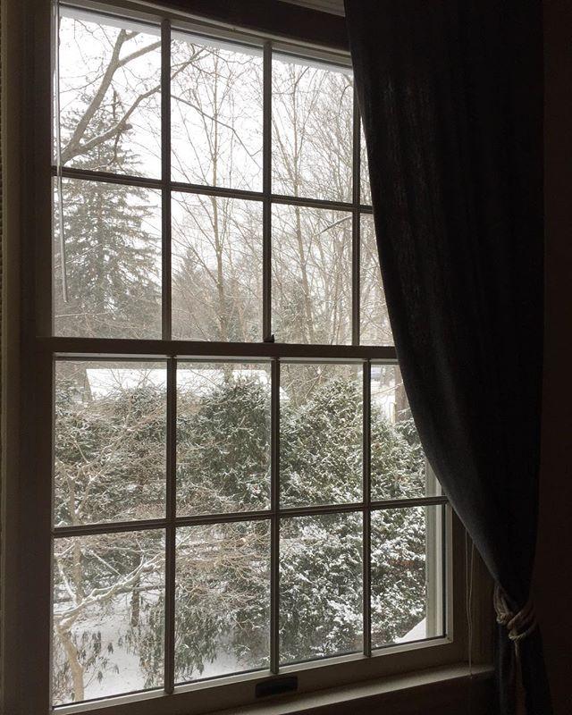 Woke up in a winter wonderland ❄️